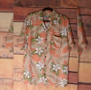 Caribbean Joe Hawaiian shirt Large